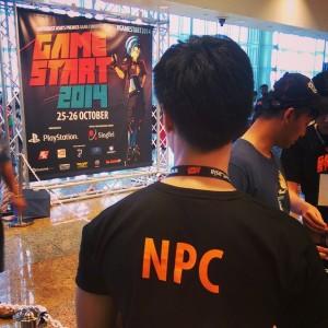 NPCs at #GameStart2014!