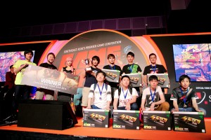 Capcom Pro Tour Asia WInners