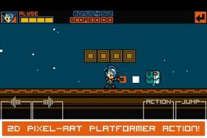 2D pixel-art platformer action!