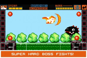 Super hard boss fights!