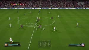 The new Fifa Trainer in action.
