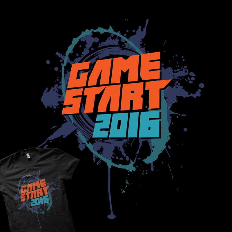 GameStart 2016 Official Tee - LOGO
