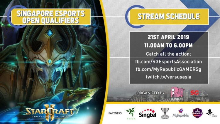 Top 3 Starcraft II Singapore Esports Open Qualifiers